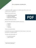 Recopilcion y Analisis de La Informacion