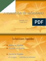Preparación de Soluciones 22.02.12