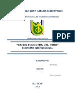 Economía Internacional Peru