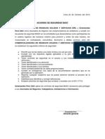 Acuerdo de SegWuridad Basc 2014-Permiso Para Reservas