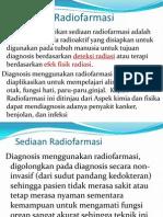 Sedian Radiofarmasi