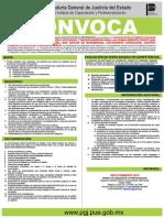 CONVOCATORIA PGJ Notificador y Recepcionistas