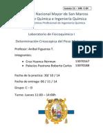 FQ I Practica N_ 6 Determinacion Crioscopica Del Peso Molecular