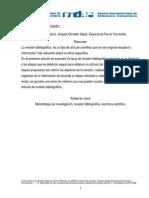 9631958 ArticulodereferenciaparatodosEl Articulo de Revision