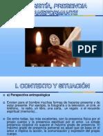 Eucaristía, Presencia Transformante