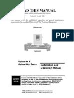 Aquafine Optimahx Manual