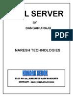 Naresh SQL Server 2013