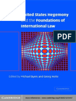 Hegemony and the Foundations of International Law