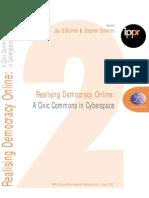 Realising Democracy Online