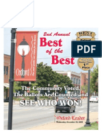 The Oxford Leader Best of the Best Wed., December 30,