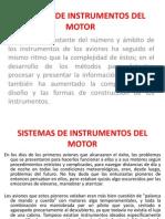 Sistemas de Instrumentos Del Motor 1 Clase