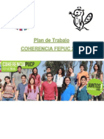 Plan de Trabajo Coherencia PUCP 2015