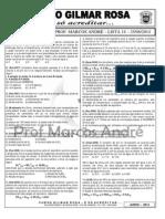 Espcex - Lista 14 Equilíbrio Químico (1)
