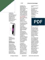 Articulo de Tecnologia