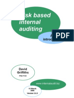 Risk Based Internal Auditing