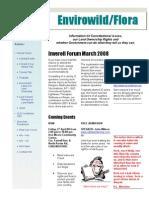 FLORA Newsletter 1 March 2008