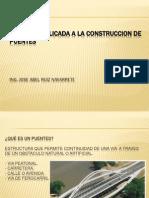 Exposicion Geologia Aplicada a Puentes