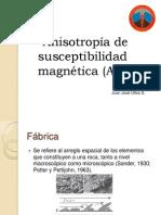 Anisotropía de Susceptibilidad magnética