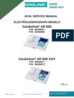 Cardioline AR600 - Service Manual