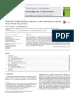 Brough, IJP, 2013, ASD and Nanocrystal Technologies