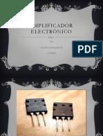 Amplificador electrónico