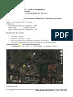 Informe de Lab 1 Topografia