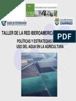 Taller Red Iberoamericana Riego