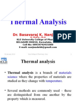 6.1 Thermal Analysis