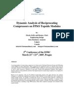 Dynamic Analysis of Compressor