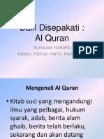 Usul Fiqh - AL Quran