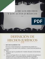 1. Hechos y Los Actos Jurídicos