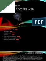Internet y Navegadores Web