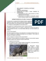 Normatividad de Flora y Fauna. Unidades de Conservacion 2009