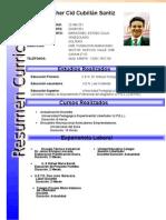 Curriculum Cristopher