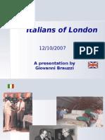 The Italian Community in the UK