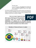 Peru Con Mayor Ingreso de Internet