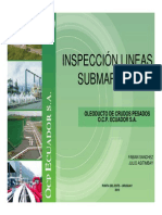 Inspeccion Lineas Submarinas