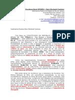 REPRIMENDA a Ouvidora-Geral DPGERJ - Dra Darci Burlandi Cardoso