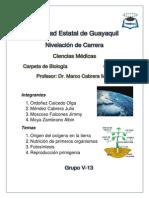 El origen del Oxígeno en la tierra.docx