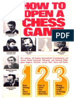 How to Open a Chess Game Evans Larry