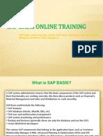 SAP basis online training   Online SAP basis Training in usa, uk, Canada, Malaysia, Australia, India, Singapore.