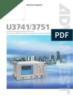Advantest U3741-U3751