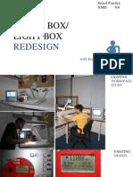Ergonomics Project - Lunchbox/Lightbox Redesign