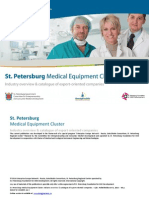 St. Petersburg Medical Equipment Cluster - 2014