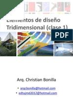 Elementos de Diseño Tridimensional