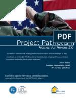 homes for veterans white paper 8 11 14