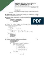 1st Pre Board CS 2013-14.PDF