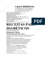 Margarida Valenzi - Receitas Para Diabeticos