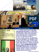 ucl presentation on italian foreign policy