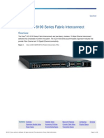 Cisco UCS 6100 Series Fabric Interconnect
